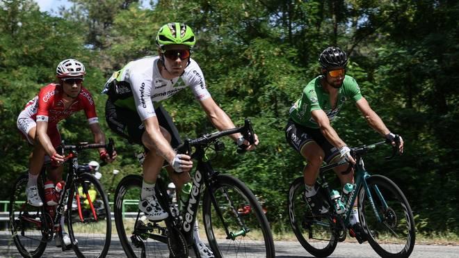 Bei der Tour de France können sich am Sonntag Ausreißer große Chancen auf einen Etappensieg ausrechnen
