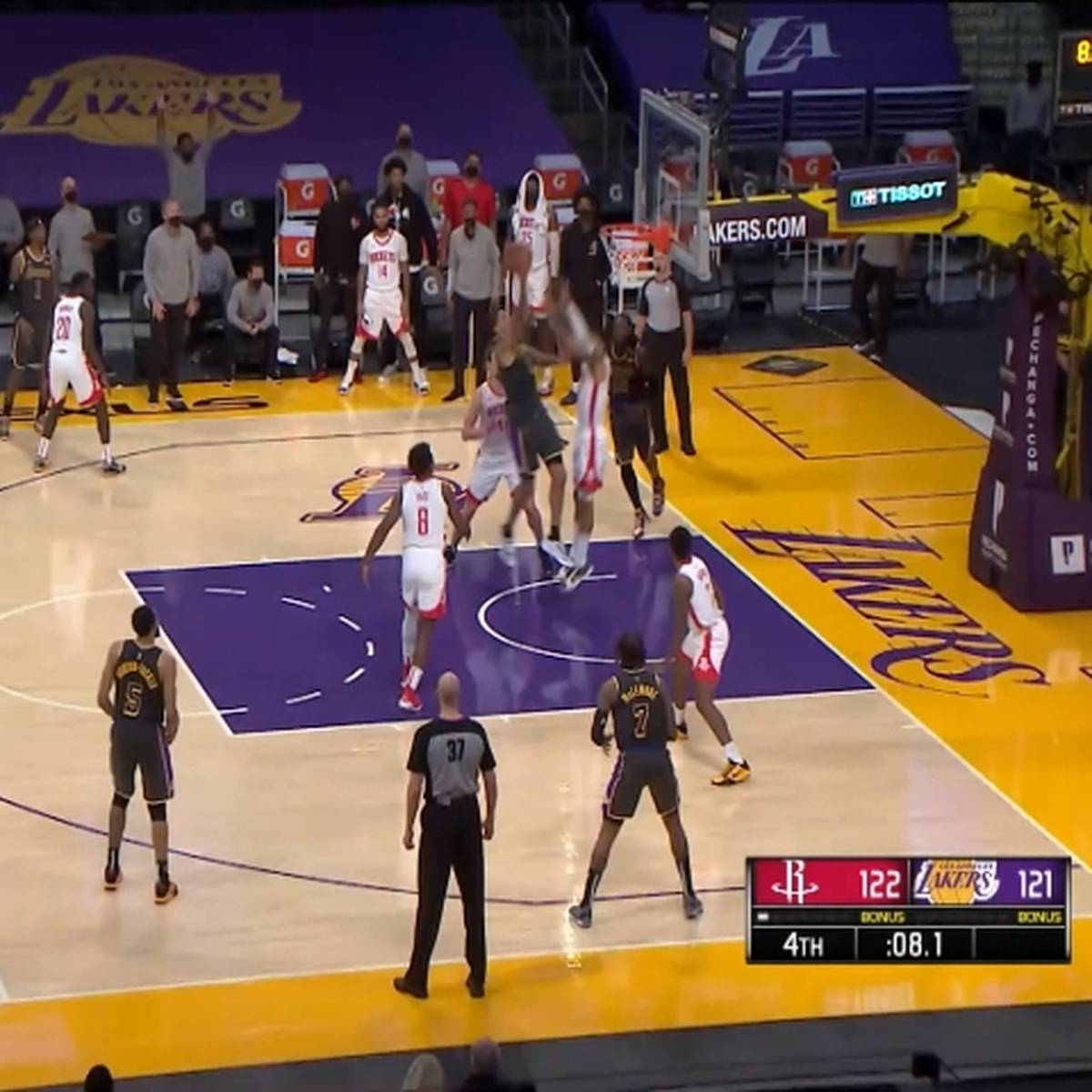 Bangen im Playoff-Rennen: Kuzma-Gala hält Lakers am Leben