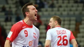 Andrzej Rojewski vom SC Magdeburg war Polens bester Werfer