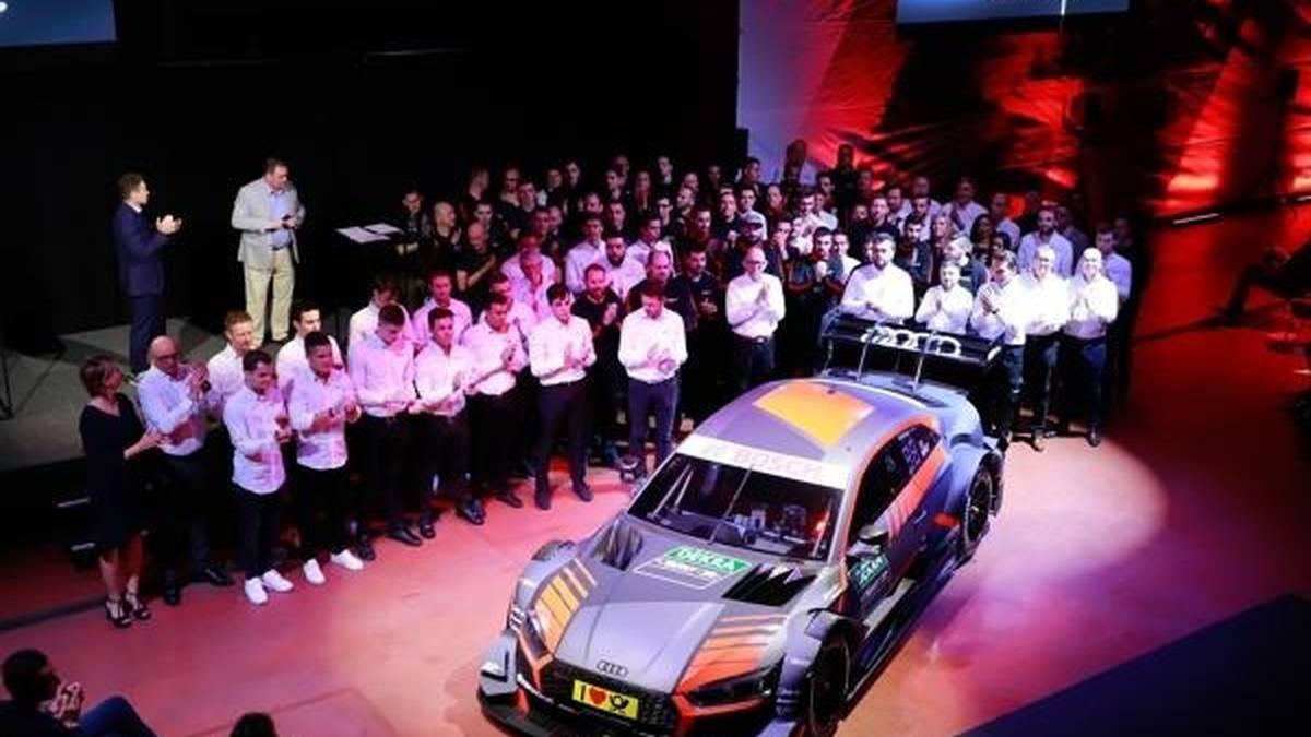 Mutig: Das belgische WRT-Team traut sich 2019 auch die DTM zu
