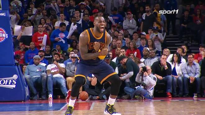 LeBron James marschiert mit Cleveland Richtung Sweep
