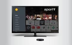 SPORT1 Video App für nexus TV