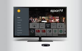 SPORT1 Video App für nexus TV