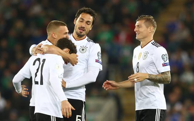 Die deutsche Nationalmannschaft trifft am Freitag auf Spanien