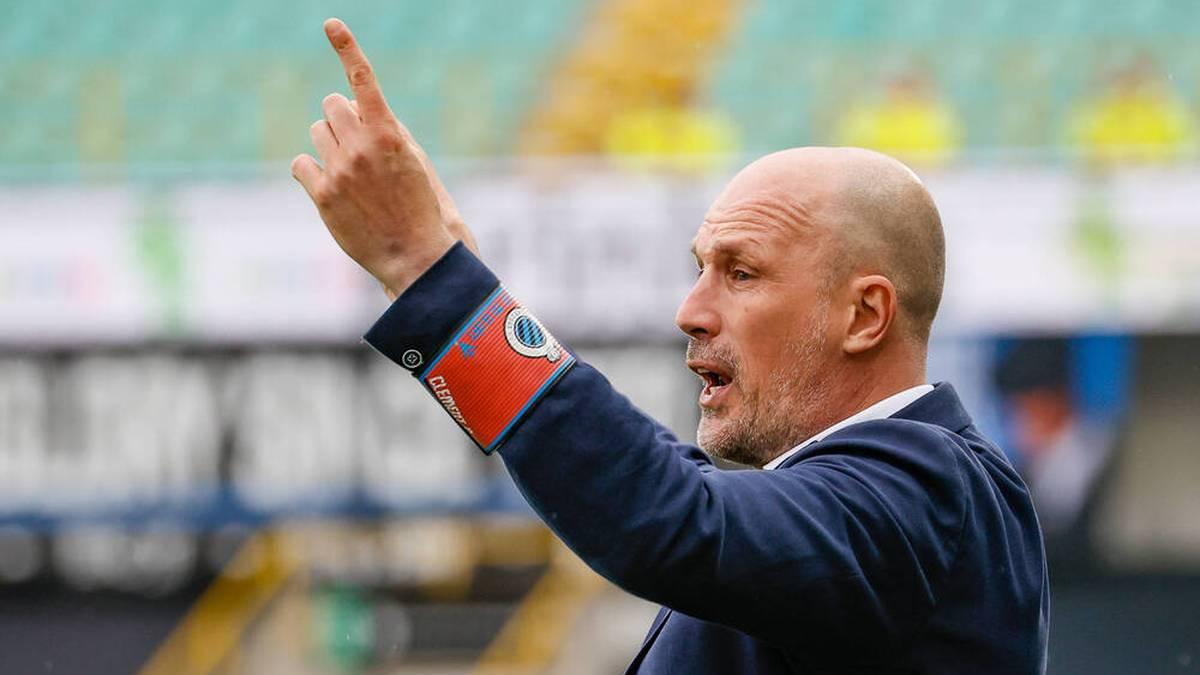 Philippe Clement ist seit 2019 Trainer des FC Brügge