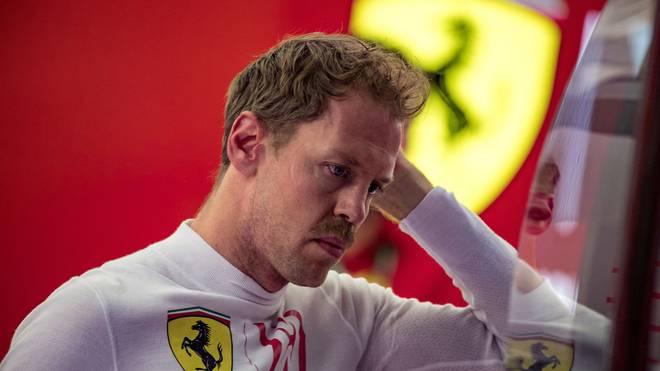 Sebastian Vettel startet beim Großen Preis von Bahrain von Rang zwei