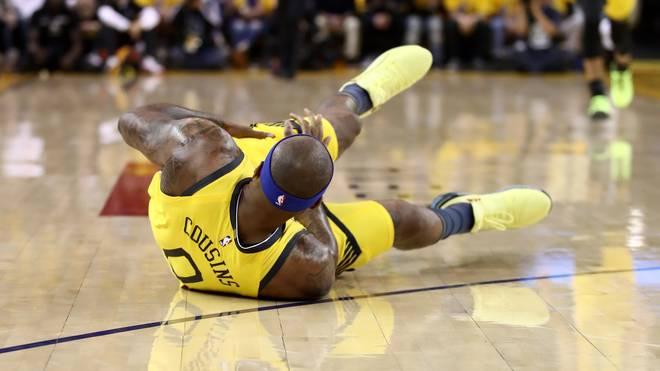 DeMarcus Cousins bleibt vom Verletzungspech verfolgt, Golden State Warriors
