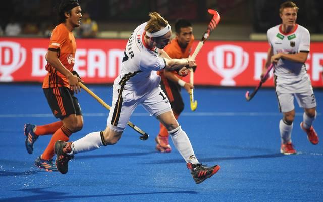 Christopher Rühr war unter den Torschützen der deutschen Hockey-Männer gegen Malaysia