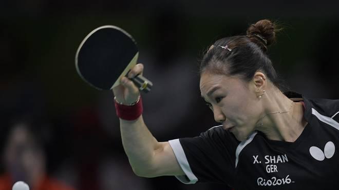 Shan Xiaona sorgte für die beiden deutschen Punkte bei der EM-Finalpleite gegen Rumänien
