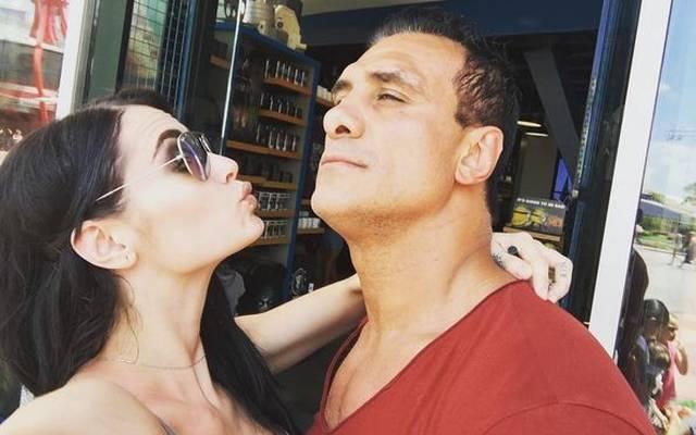 WWE-Wrestlerin Paige und Alberto El Patron (Del Rio) haben in diesem Jahr geheiratet