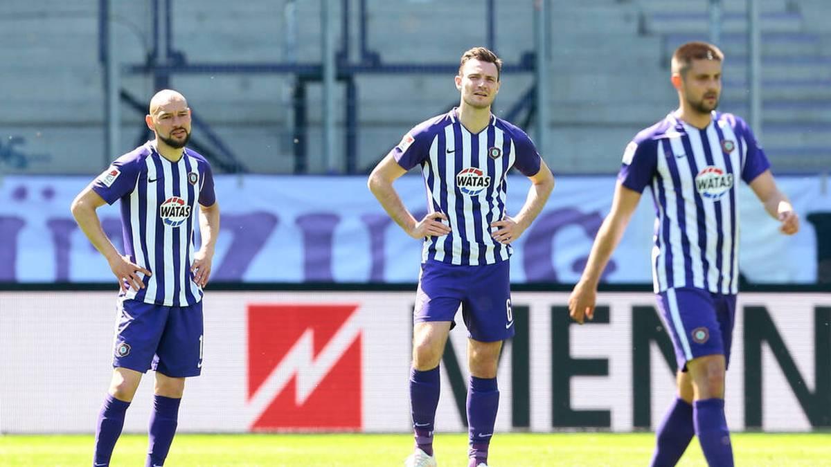 Erzgebirge Aue erlebte gegen den SC Paderborn ein echtes Debakel