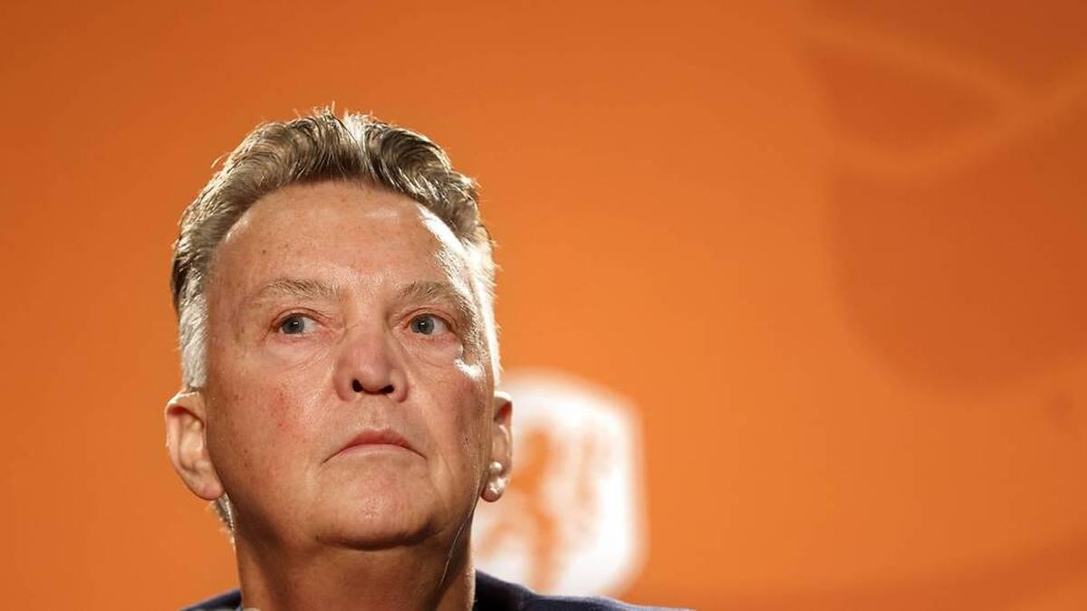 Bei Vorstellung: Van Gaal gibt WM-Titel als Ziel vor