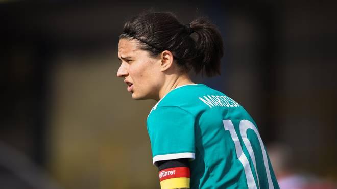 Dzsenifer Marozsan gehört zu den Finalistinnen zur Weltfußballer-Wahl des Jahres