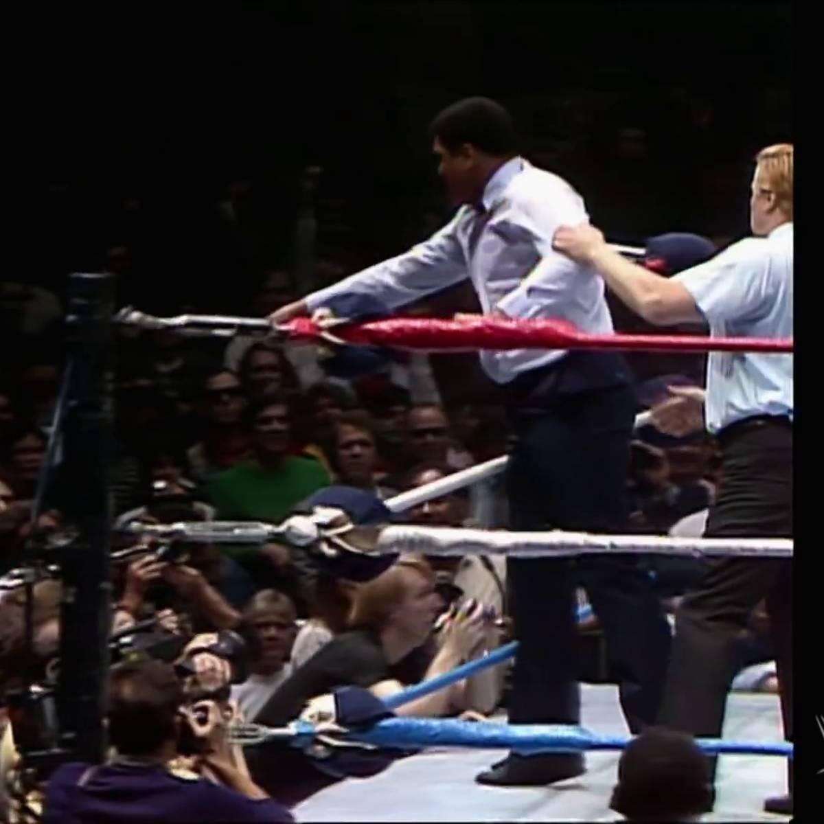 In diesem Hulk-Hogan-Klassiker mischte auch Ali mit