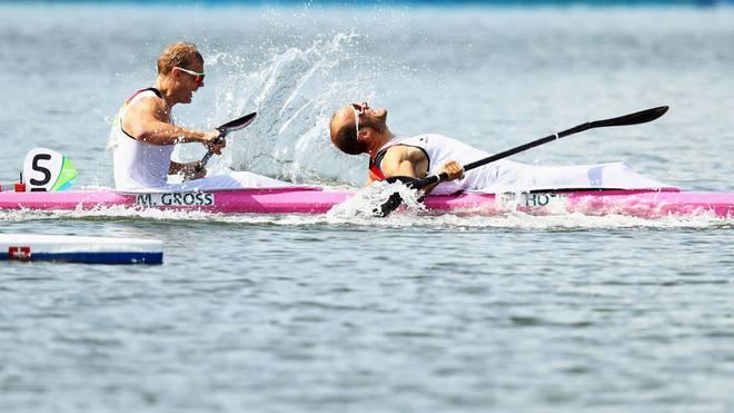 Max Hoff und Marcus Gross haben bei der Kanu-WM Gold gewonnnen