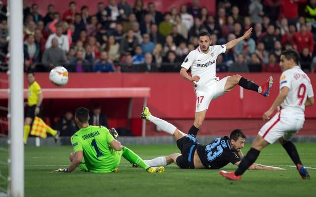 Pablo Sarabia erzielte das zweite Tor für den FC Sevilla