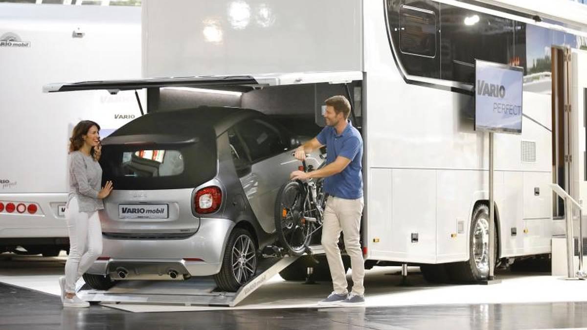 Diese Reisemobile zeigen Hersteller auf dem Caravan Salon