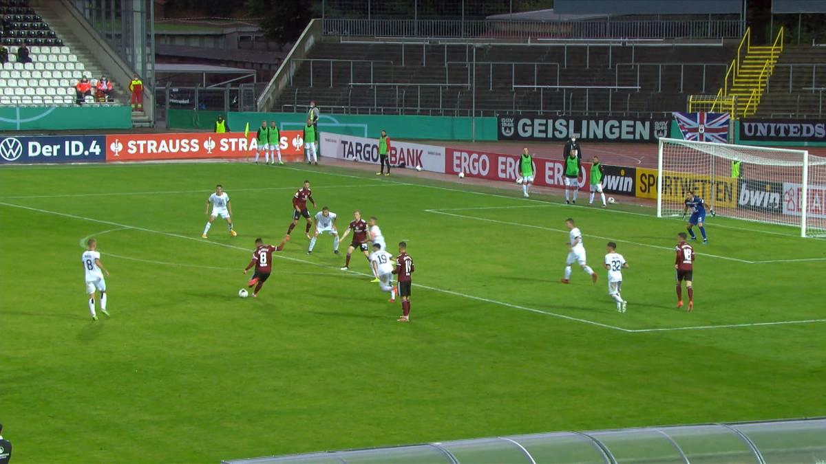 Zweitligist 1. FC Nürnberg erreicht mit einem mühsamen Sieg bei Regionalligist SSV Ulm die zweite Pokalrunde. Matchwinner ist ein ehemaliger BVB-Spieler.