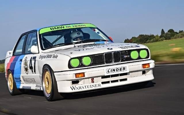 Klassiker! Mit so einem BMW M3 E30 wollen Vater und Bruder Wittmann antreten