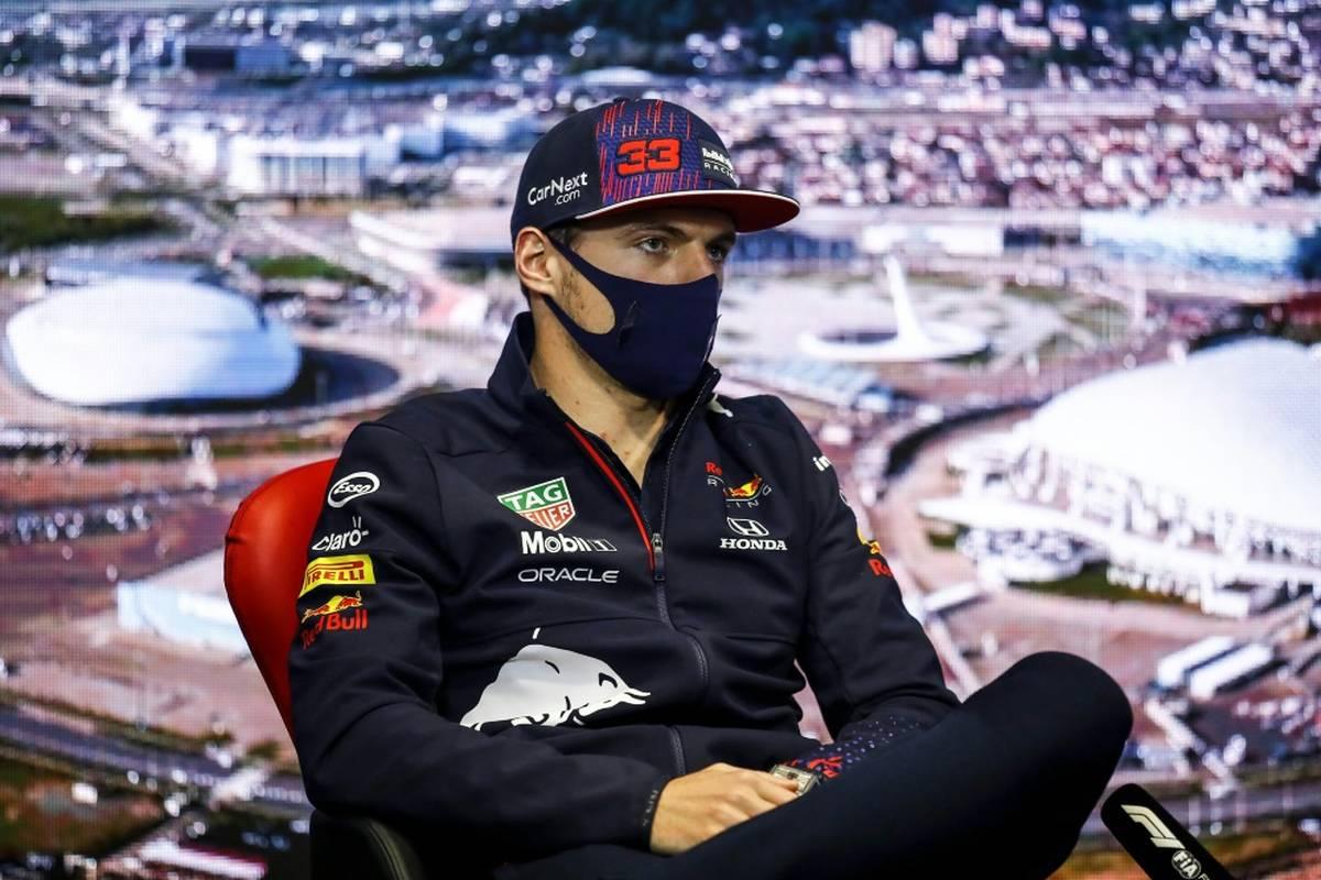 Max Verstappen startet beim Formel-1-Rennen in Sotschi vom letzten Platz