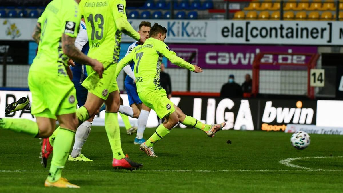 Wehen Wiesbaden gewann beim SV Meppen