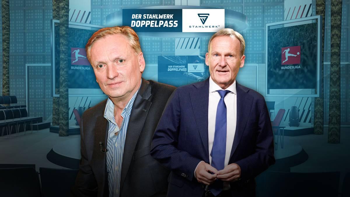 STAHLWERK Doppelpass mit BVB-Boss Watzke
