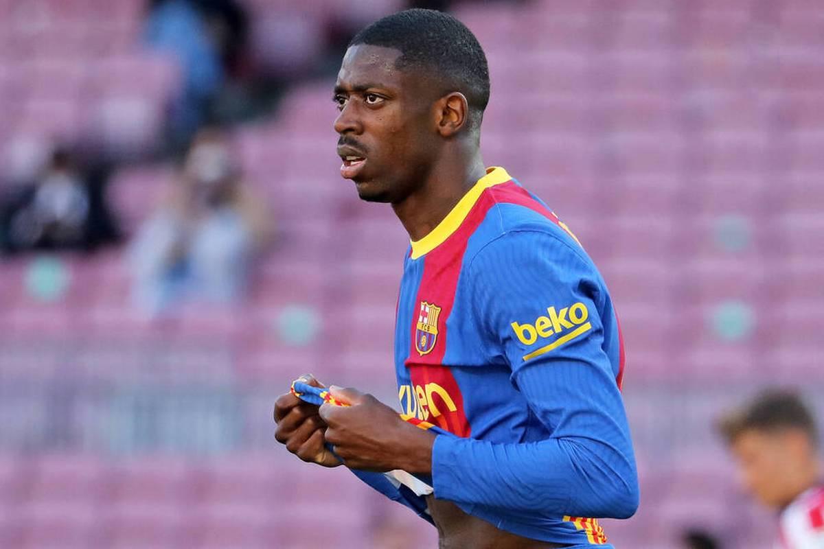 Ousmane Dembélé ragt mit seinen Leistungen beim FC Barcelona nicht gerade heraus. Dennoch ist der Franzose sogar in der Kabine der Bayern-Profis ein Thema.