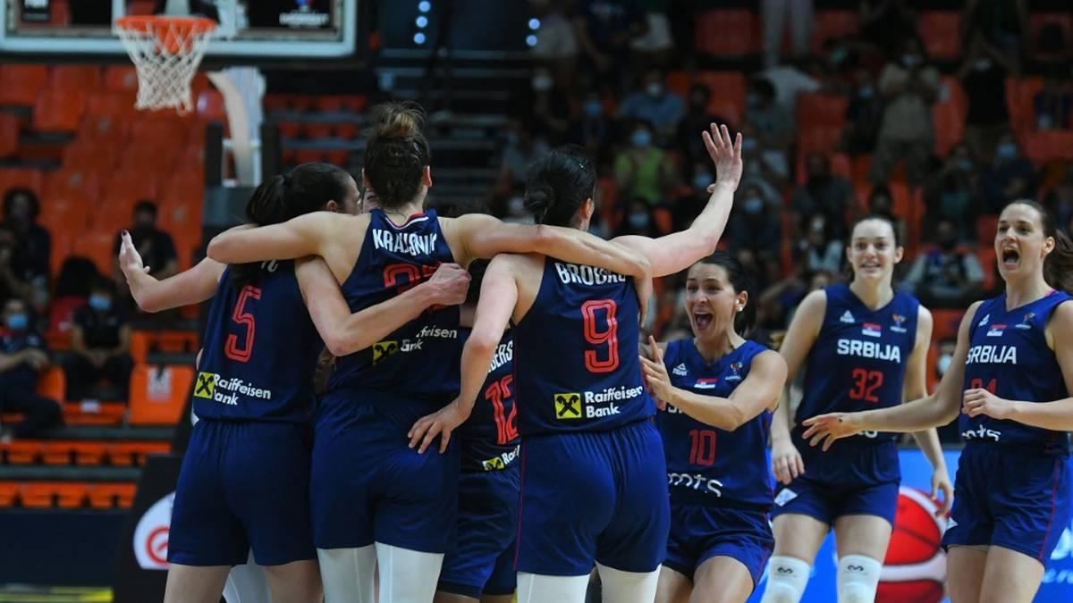 Serbiens Basketballerinnen zum zweiten Mal Europameister