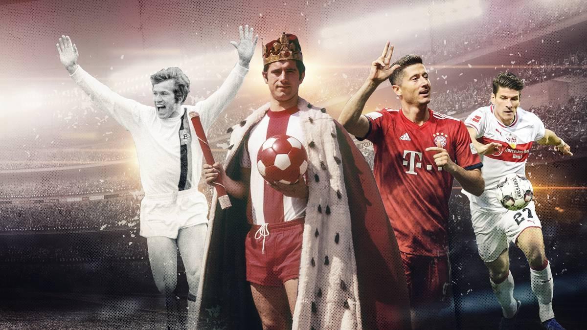 Die besten Mehrfachpacker der Bundesliga