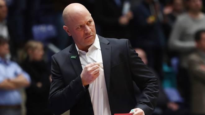 Denis Wucherer ist seit 2018 Trainer von s.Oliver Würzburg