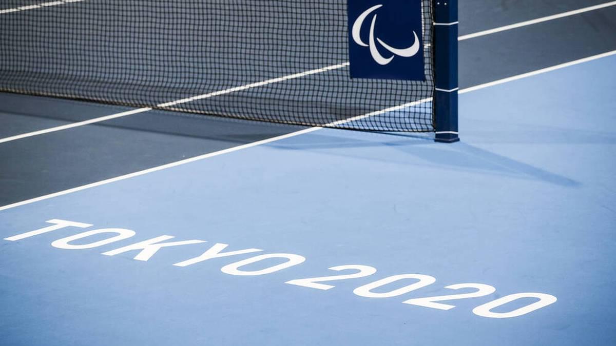 Ein belgischer Tennisspieler brach bei den Paralympics zusammen