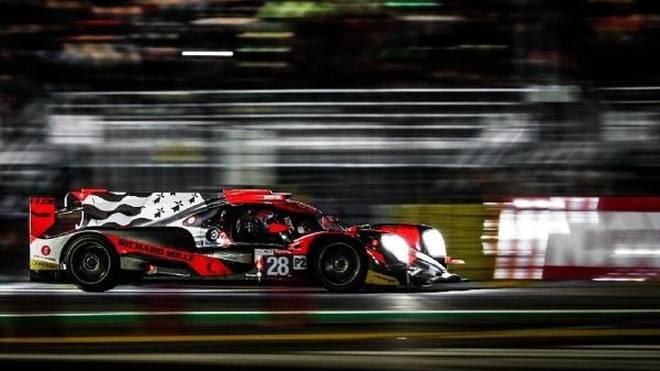 Audis DTM-Pilot Loic Duval erwies sich einmal mehr als Le-Mans-Spezialist