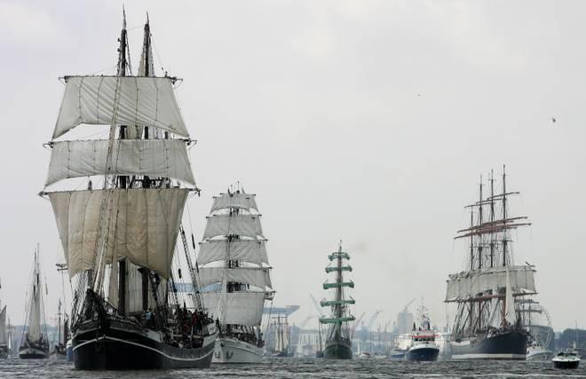 Kiel Week - Full Ship Parade