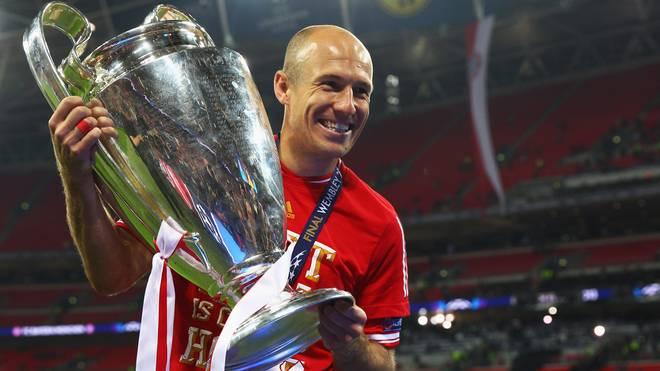 Arjen Robben gewann 2013 mit dem FC Bayern die Champions League
