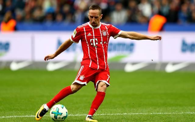 Franck Riberys Vertrag in München läuft zum Saisonende aus