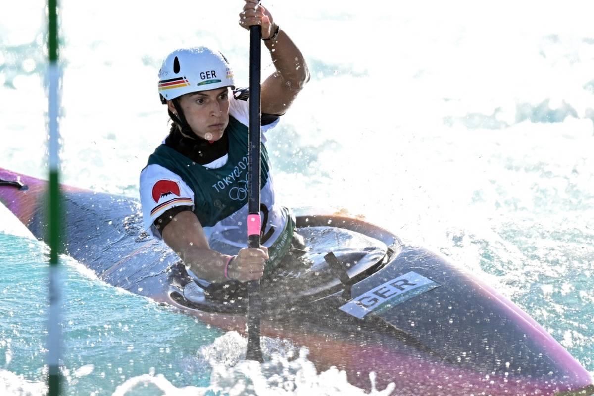 Kajak-Olympiasiegerin Ricarda Funk ist bei der Kanuslalom-WM in Bratislava mühelos ins Finale eingezogen.
