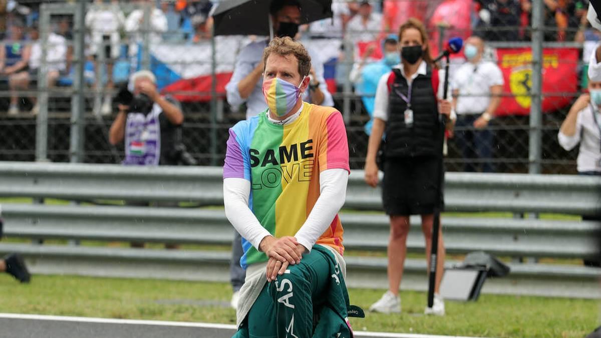 Sebastian Vettel setzte in Ungarn ein klares Statement