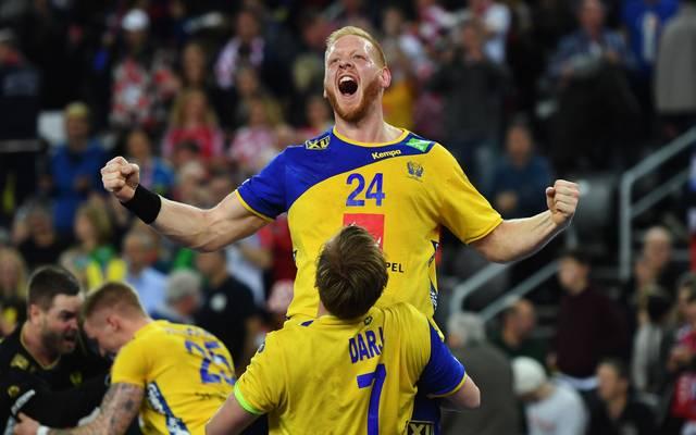 Jim Gottfriedsson spielt in der Handball-Bundesliga bei der SG Flensburg-Handewitt