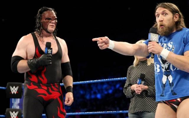 """Kane (l.) und Daniel Bryan haben das """"Team Hell No"""" nach fünf Jahren wieder aufleben lassen"""