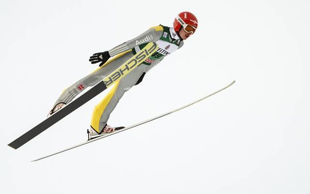 Die DSV-Adler um Richard Freitag sprangen im polnischen Wisla auf Platz zwei