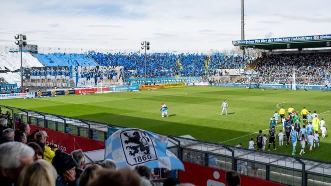 """Das """"neue"""" Grünwalder Stadion soll komplett überdacht sein - natürlich sollen genau 18.060 Zuschauer Platz im ausgebauten Löwen-Stadion finden"""