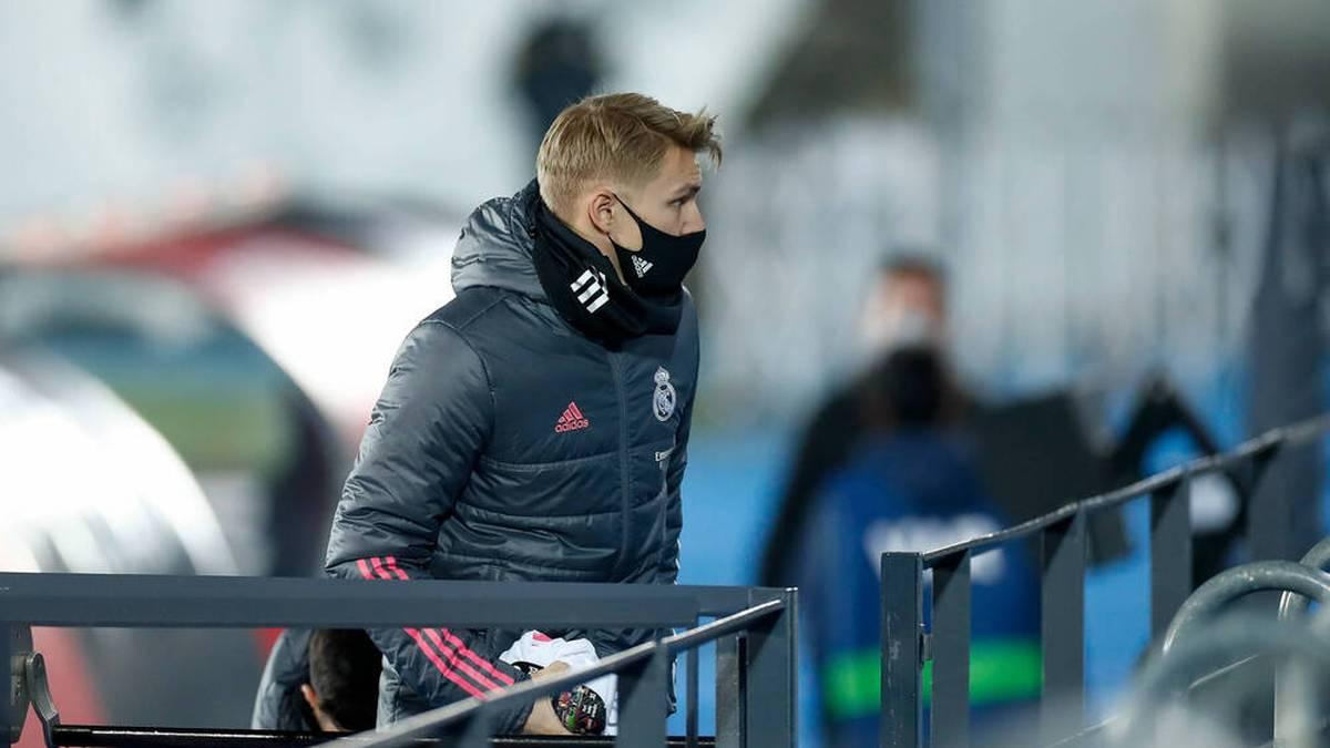 Martin Odegaard hat den Durchbruch bei Real Madrid noch nicht geschafft