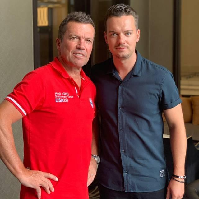 Lothar Matthäus traf SPORT1-Chefreporter Florian Plettenberg zum Interview im Team-Hotel in Houston