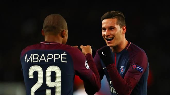 Julian Draxler spielt seit Januar 2017 bei Paris-Saint Germain