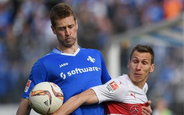 Slobodan Rajkovic (l.) will Darmstadt 98 in Richtung Palermo verlassen