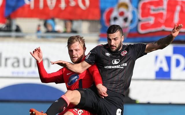 Der 1. FC Nürnberg verliert in Heidenheim