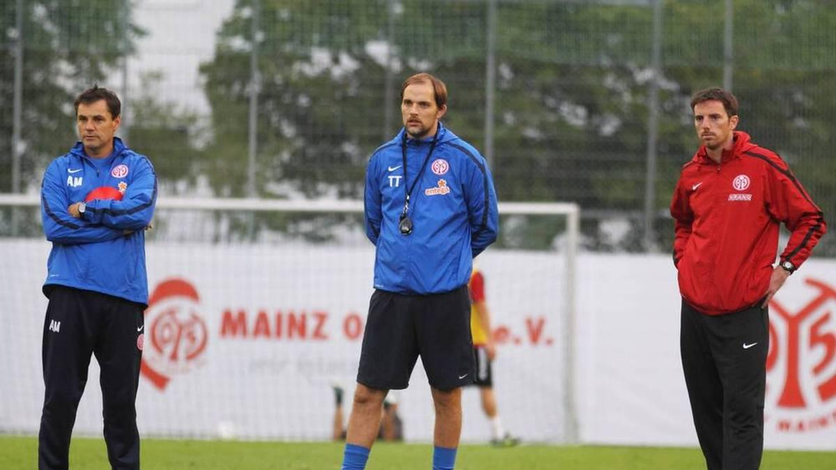 Bei Mainz 05 arbeitete Meikel Schönweitz (r.) mit Thomas Tuchel zusammen