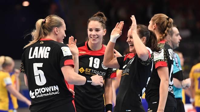 Die deutschen Handballerinnen