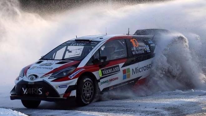 Jari-Matti Latvala triumphierte für Toyota bei der Rallye Schweden