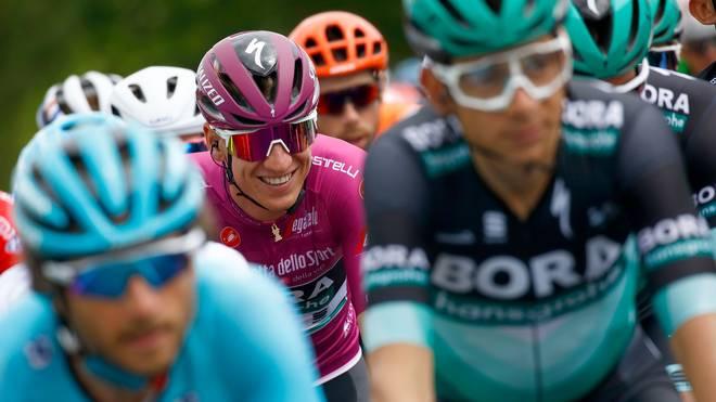 Giro d'Italia, 3. Etappe, Pascal Ackermann im Trikot des besten Sprinters
